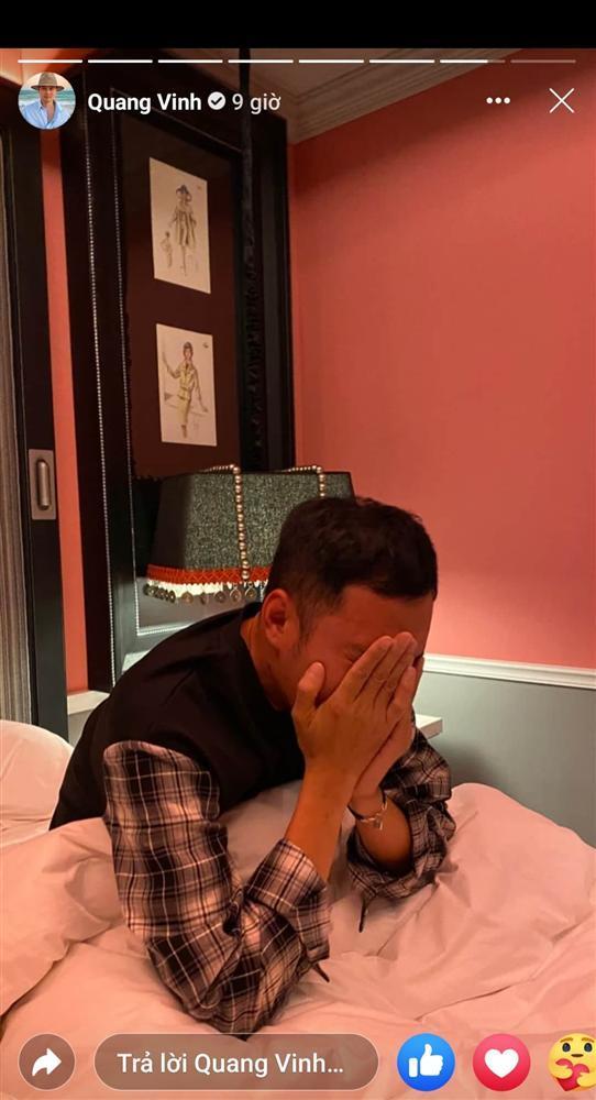 Quang Vinh gây ngỡ ngàng với hình ảnh phê pha rượu chè