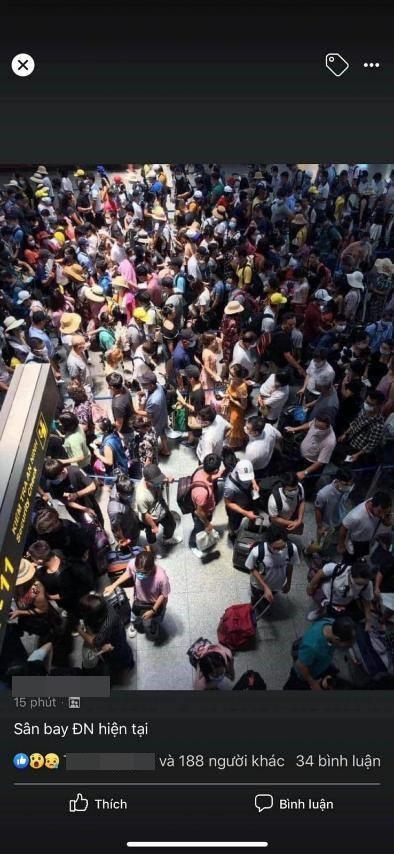 Sân bay Đà Nẵng thất thủ sau khi phát hiện ca nghi mắc COVID-19?-1