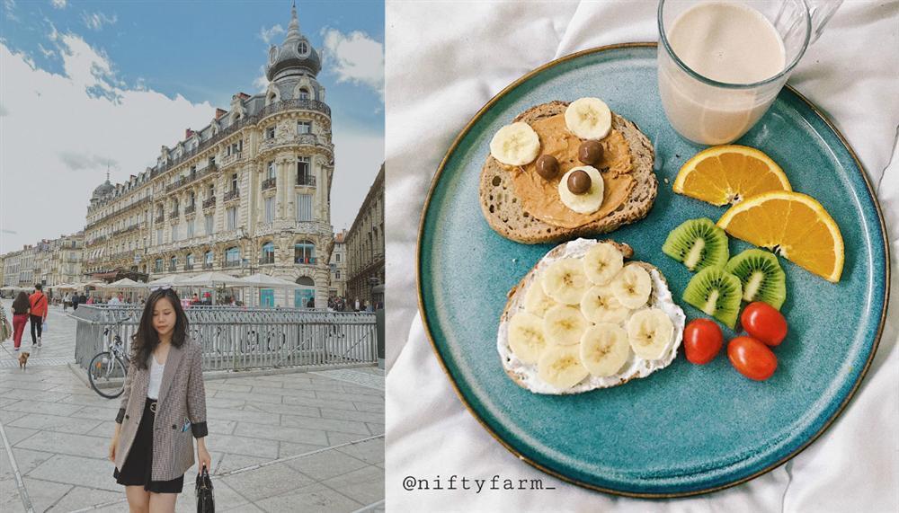 Suất ăn toàn rau củ ngỡ nhạt nhẽo nhưng ngon chẳng kém nhà hàng kiểu Âu của nữ du học sinh Pháp-1