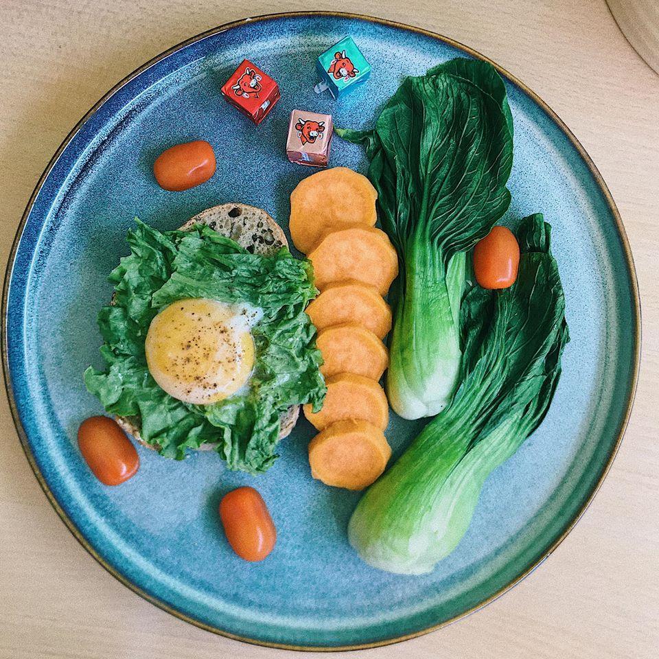 Suất ăn toàn rau củ ngỡ nhạt nhẽo nhưng ngon chẳng kém nhà hàng kiểu Âu của nữ du học sinh Pháp-3