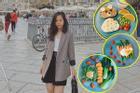 Suất ăn toàn rau củ ngỡ nhạt nhẽo nhưng ngon chẳng kém nhà hàng kiểu Âu của nữ du học sinh Pháp