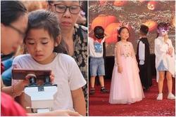 Con gái Mai Phương rạng rỡ sát cánh cùng bà nội trong lễ bế giảng