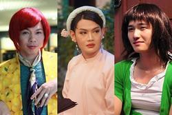 Sao nam Việt giả gái trên phim: Đào Bá Lộc xinh ngất ngây, Huỳnh Anh giống chuyển giới