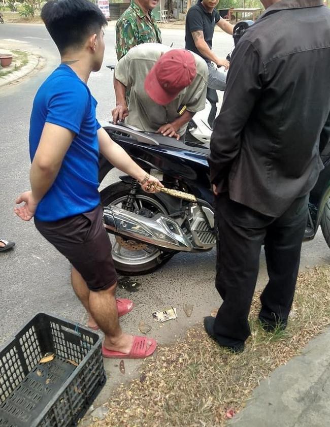 Hú hồn cảnh tượng giải cứu bé Na béo ú bị mắc kẹt trong động cơ xe máy-2