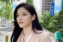 'Sao nhí quốc dân' Kim Yoo Jung khoe vẻ đẹp ngày càng trưởng thành