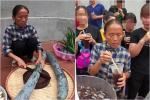Làm đồ ăn siêu nhỏ, bà Tân bị soi dùng chất dễ gây ngộ độc để đun nấu-8