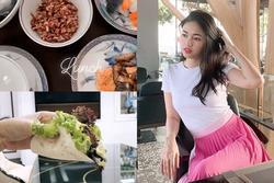 Mục sở thị thực đơn khắc nghiệt của Á hậu Thanh Tú sau thời gian bị chê béo