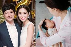 HOT: Lộ diện quý tử mới sinh của hoa hậu Đặng Thu Thảo