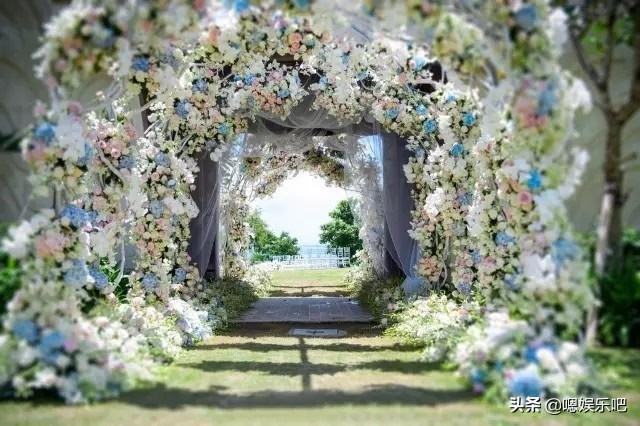 6 đám cưới ngập trong biển hoa bạc tỷ của showbiz Hoa ngữ-1
