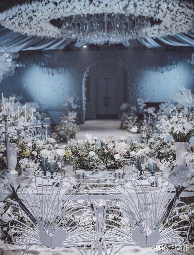 6 đám cưới ngập trong biển hoa bạc tỷ của showbiz Hoa ngữ-6
