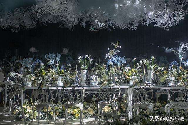 6 đám cưới ngập trong biển hoa bạc tỷ của showbiz Hoa ngữ-8