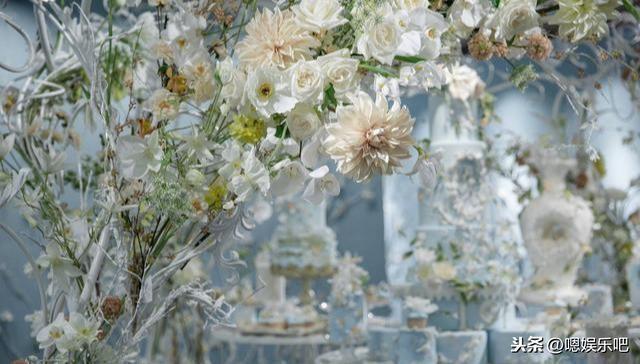 6 đám cưới ngập trong biển hoa bạc tỷ của showbiz Hoa ngữ-9