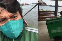 Shipper Thái Lan được tuyên dương nhờ làm 1 việc không ai ngờ vì sợ pizza của khách bị nguội