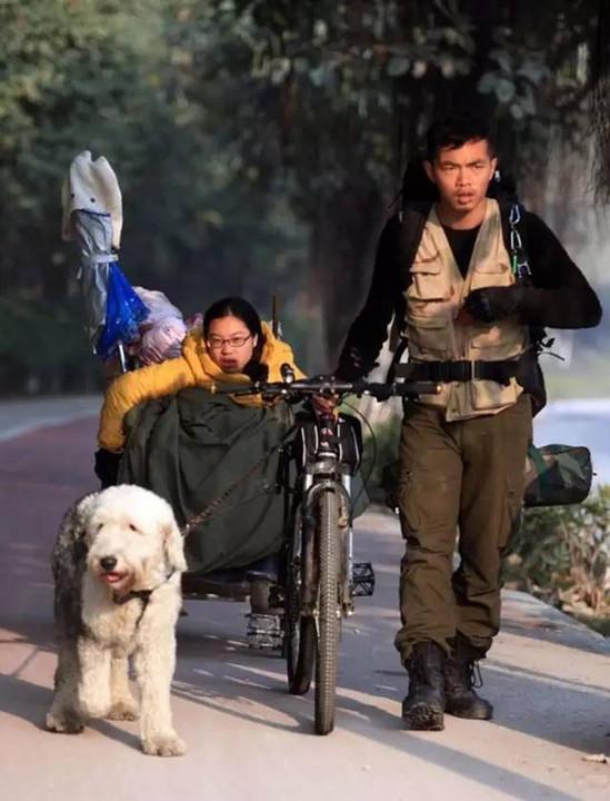 Cái kết đẹp của cặp đôi gây xôn xao MXH 5 năm trước với hành trình ngàn dặm hình trái tim đưa bạn gái khuyết tật đi khắp Trung Quốc-5