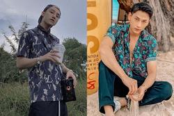 Sơn Tùng M-TP, Isaac khoe vẻ phong trần với mốt áo sơ mi họa tiết