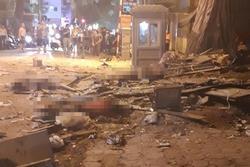 Sập giàn giáo tại Hà Nội, 3 người tử vong