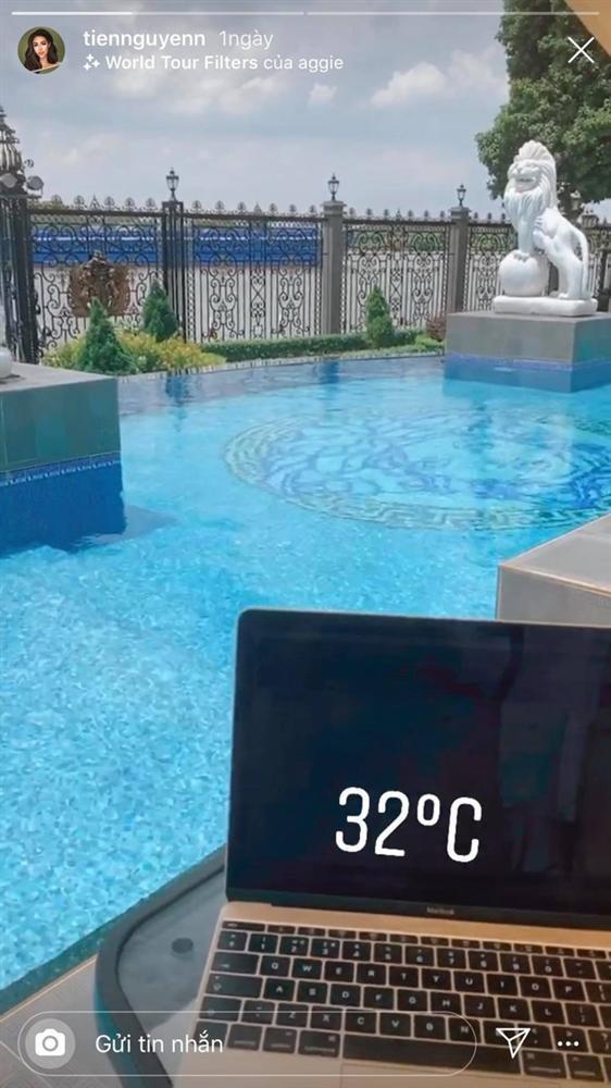 Tiên Nguyễn khoe view biệt thự đang ở đẹp ngang khách sạn 5 sao-1