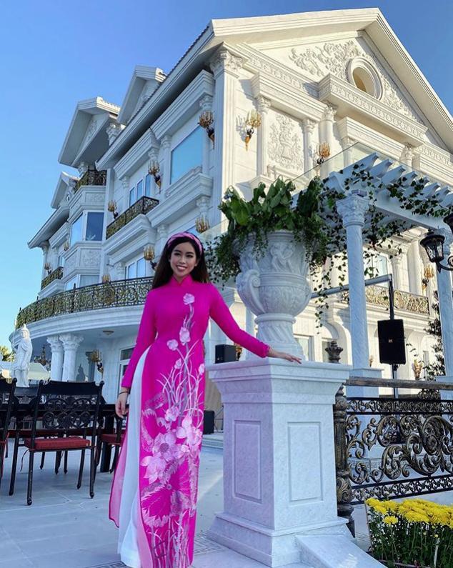 Tiên Nguyễn khoe view biệt thự đang ở đẹp ngang khách sạn 5 sao-2