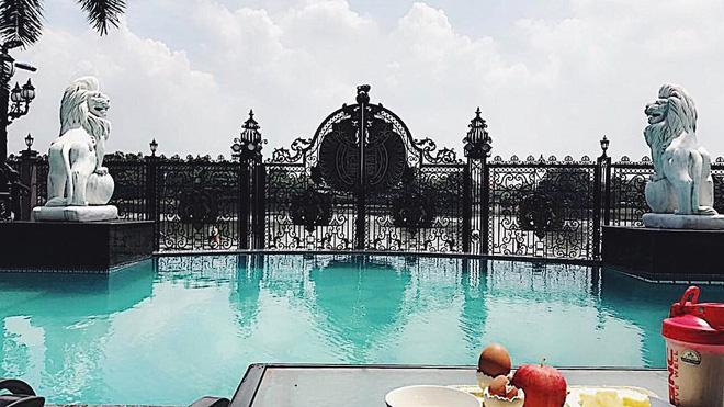 Tiên Nguyễn khoe view biệt thự đang ở đẹp ngang khách sạn 5 sao-5
