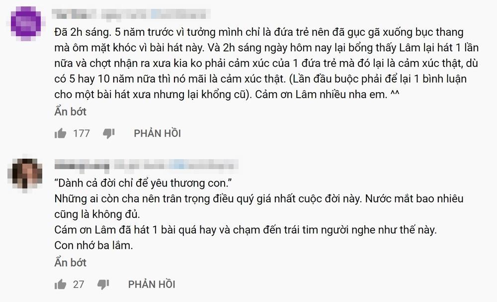 Khán giả tràn vào Youtube xem MV mới mà cũ của Hoài Lâm vì quá cảm xúc-6