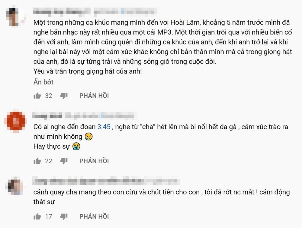 Khán giả tràn vào Youtube xem MV mới mà cũ của Hoài Lâm vì quá cảm xúc-9