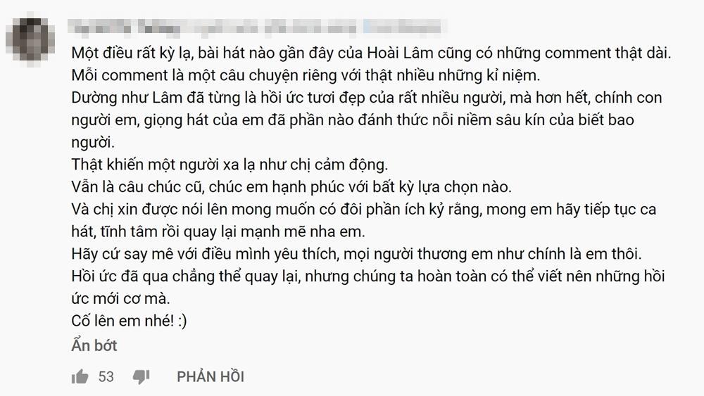 Khán giả tràn vào Youtube xem MV mới mà cũ của Hoài Lâm vì quá cảm xúc-11