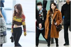 Bí quyết giúp Taeyeon nổi bật tại sân bay