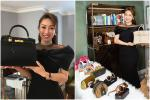 Góp túi Hermes làm từ thiện, bạn gái kém 16 tuổi của Chi Bảo tiện khoe kho đồ hiệu