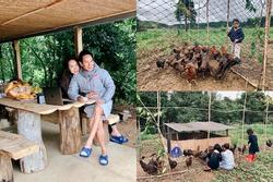 Trang trại lộng gió ở quê của gia đình Lý Hải - Minh Hà