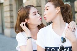 Ngọc Trinh tự nhận bất tài, Quỳnh Thư vẫn khen bạn thân nức nở