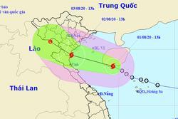 Bão giật cấp 10 cách Thái Bình - Nghệ An 450 km, biển động rất mạnh