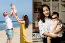 Hoa hậu Ngô Phương Lan hoang mang vì con gái không nhận ra mẹ