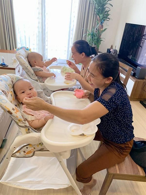 5 sao Việt sinh đôi: Người thuê 3 giúp việc, người lấy đại gia lại mất ngủ vì chăm con-3