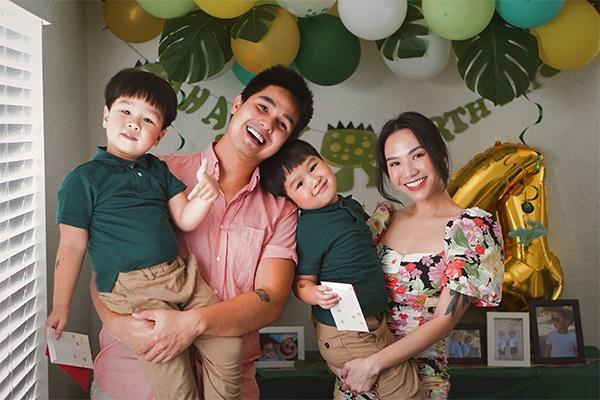 5 sao Việt sinh đôi: Người thuê 3 giúp việc, người lấy đại gia lại mất ngủ vì chăm con-5