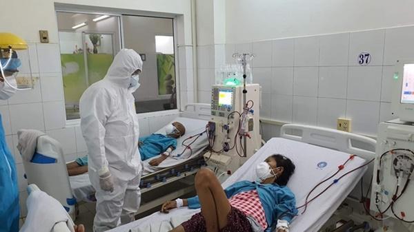 Giải phóng bệnh nhân, nhân viên y tế ở Bệnh viện Đà Nẵng-1