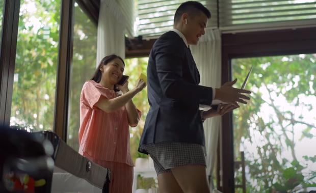 Cười bò với thời trang làm việc tại nhà của vợ chồng mỹ nhân đẹp nhất Phillipines-4