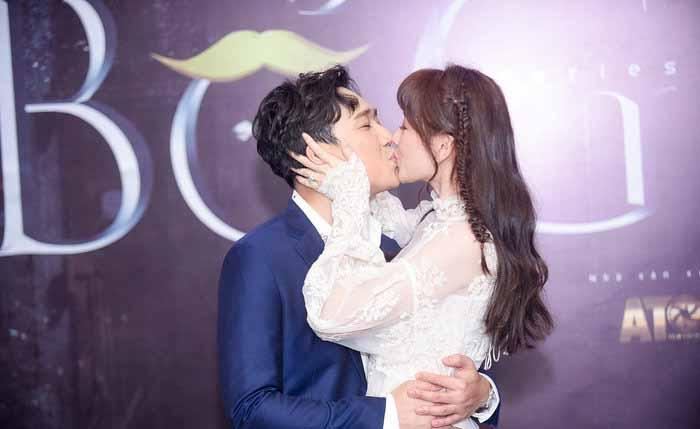 Hari Won nổi quạu khi bị Trấn Thành cưỡng hôn nơi đông người-5