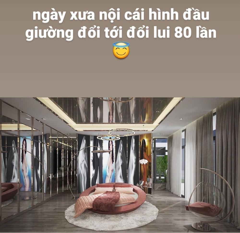 Bên trong biệt thự 45 tỷ của Ngọc Trinh, riêng ảnh đầu giường đổi 80 lần mới ưng-9