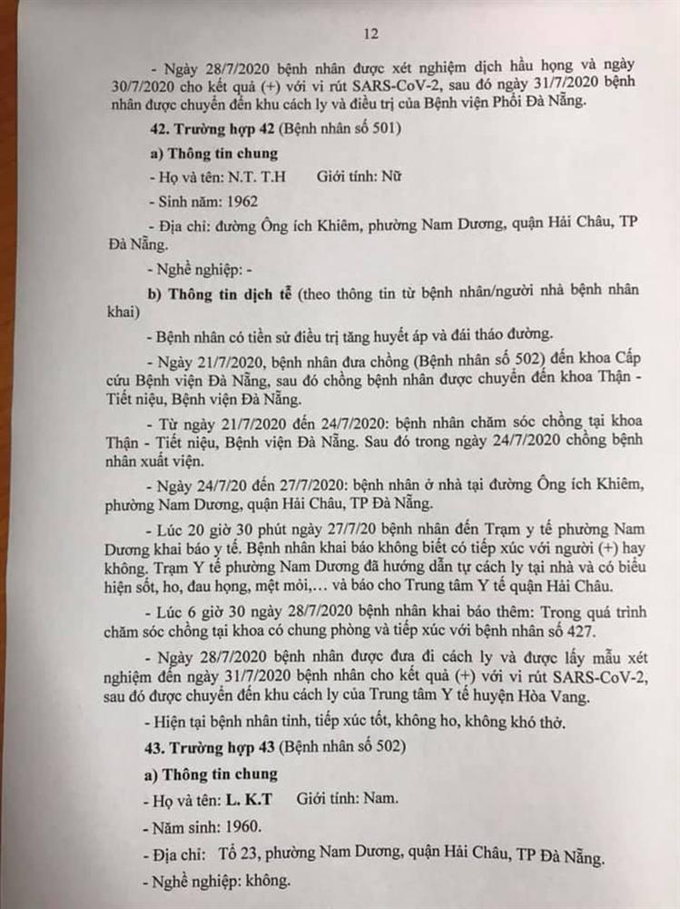 1 bệnh nhân COVID-19 tại Đà Nẵng không hợp tác khai báo-12