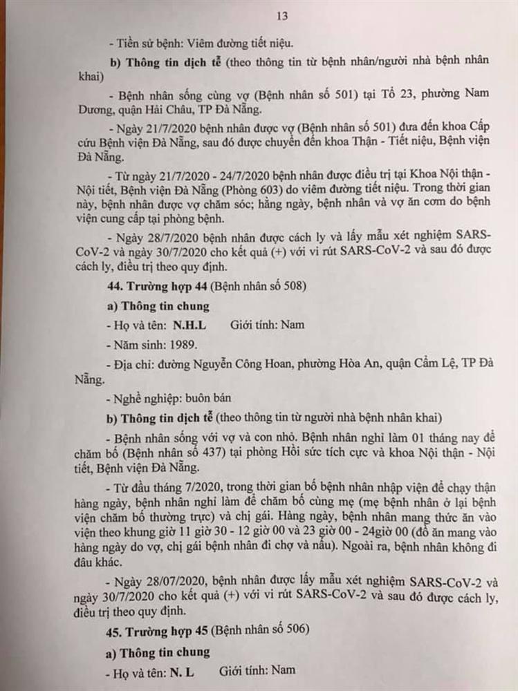 1 bệnh nhân COVID-19 tại Đà Nẵng không hợp tác khai báo-13