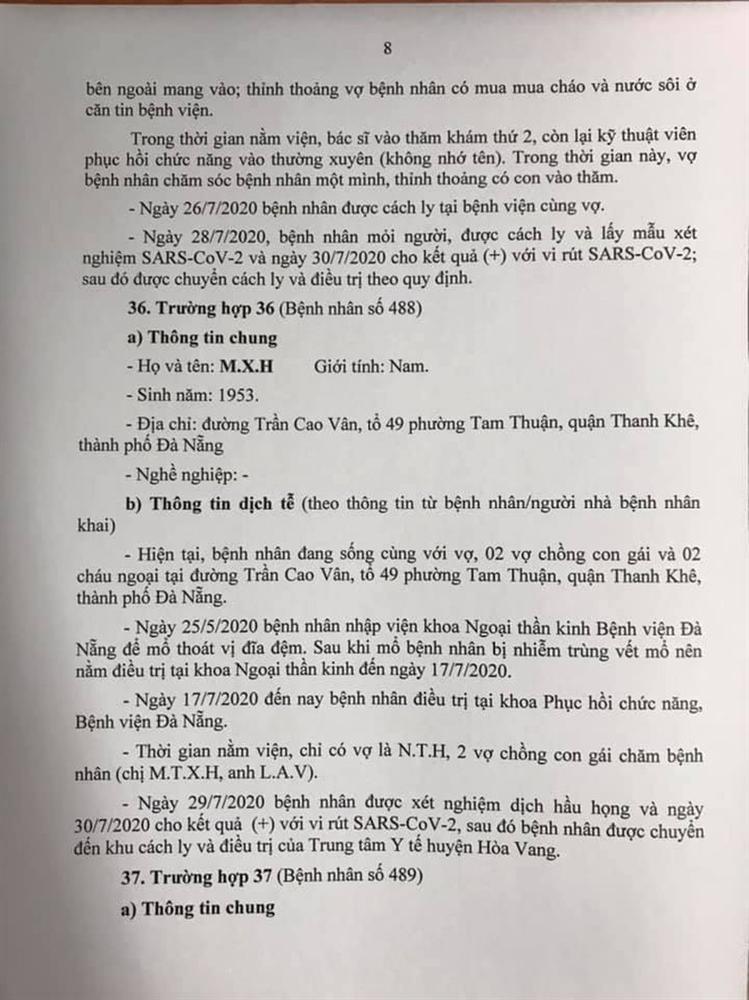 1 bệnh nhân COVID-19 tại Đà Nẵng không hợp tác khai báo-8