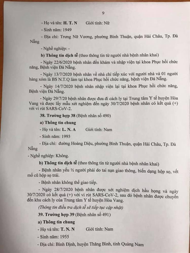 1 bệnh nhân COVID-19 tại Đà Nẵng không hợp tác khai báo-9