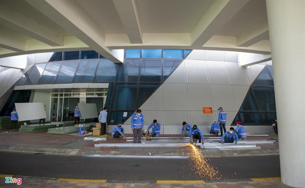 96 giờ thi công bệnh viện dã chiến 2.000 giường ở Đà Nẵng-16