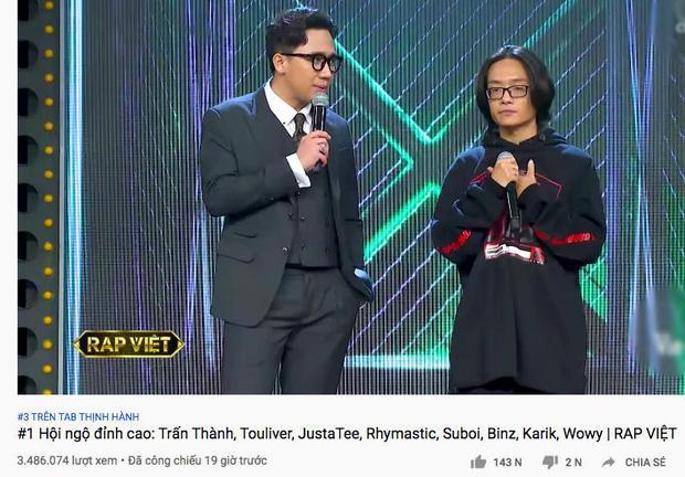 Hai TV Show về Rap quyết lên sóng đối đầu trong một đêm: Rap Việt vượt King Of Rap về hiệu ứng lan tỏa!-1