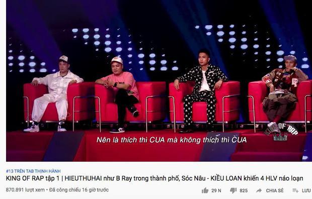 Hai TV Show về Rap quyết lên sóng đối đầu trong một đêm: Rap Việt vượt King Of Rap về hiệu ứng lan tỏa!-2