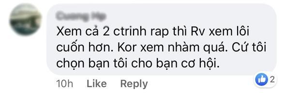 Hai TV Show về Rap quyết lên sóng đối đầu trong một đêm: Rap Việt vượt King Of Rap về hiệu ứng lan tỏa!-6