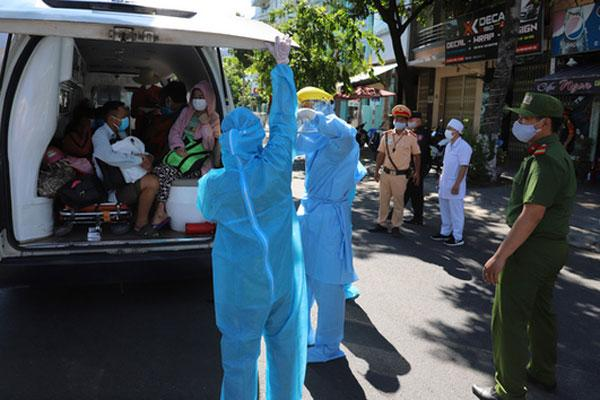 7 người trong một gia đình ở Quảng Nam nhiễm Covid-19, trong đó có 3 bé dưới 10 tuổi-1