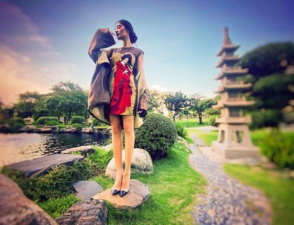 Hoa hậu đẹp nhất châu Á Hương Giang bất ngờ lộ rõ thân hình gầy tong teo, hốc hác-3
