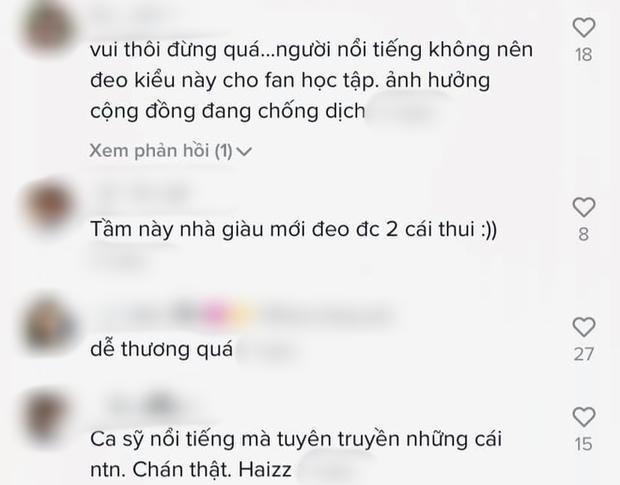Hồ Quang Hiếu bị mắng vì hướng dẫn đeo khẩu trang mùa dịch đã lãng phí lại sai cách-2