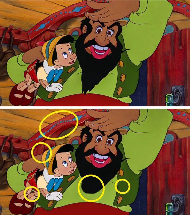 Tìm được hết điểm khác biệt trong 5 bức tranh, bạn chính là thiên tài-7